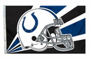 Indianapolis Colts Flag Flag 3x5 Helmet