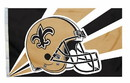 New Orleans Saints Flag Flag 3x5 Helmet