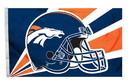 Denver Broncos Flag Flag 3x5 Helmet