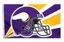 Minnesota Vikings Flag Flag 3x5 Helmet