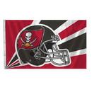 Tampa Bay Buccaneers Flag Flag 3x5 Helmet 2014 Design