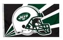 New York Jets Flag Flag 3x5 Helmet