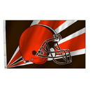 Cleveland Browns Flag Flag 3x5 Helmet New