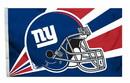 New York Giants Flag 3x5 Helmet
