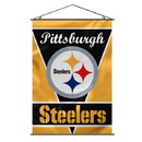 Pittsburgh Steelers Banner 28x40 Premium
