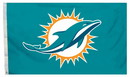 Miami Dolphins Flag 3x5 All Pro