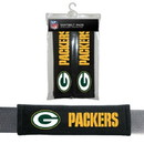Green Bay Packers Seat Belt Pads Velour