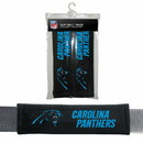 Carolina Panthers Velour Seat Belt Pads