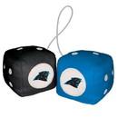 Carolina Panthers Fuzzy Dice