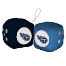Tennessee Titans Fuzzy Dice