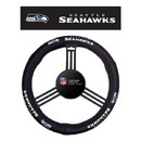 Seattle Seahawks Steering Wheel Cover - Leather