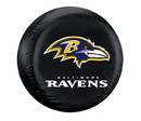 Baltimore Ravens Black Tire Cover - Size Large