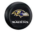 Baltimore Ravens Black Tire Cover - Size Large