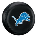 Detroit Lions Tire Cover Large Size Black Special Order