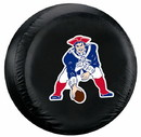 New England Patriots Black Throwback Design Tire Cover - Standard Size