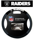 Oakland Raiders Steering Wheel Cover - Mesh
