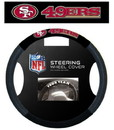 San Francisco 49ers Steering Wheel Cover - Mesh