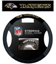 Baltimore Ravens Steering Wheel Cover - Mesh