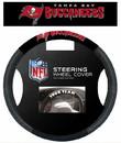 Tampa Bay Buccaneers Steering Wheel Cover - Mesh