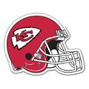 Kansas City Chiefs Magnet Car Style 12 Inch Helmet Design - Special Order
