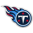 Tennessee Titans Magnet Car Style 12 Inch Logo Design