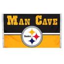 Pittsburgh Steelers Flag 3x5 Man Cave