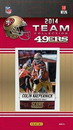 San Francisco 49ers 2014 Score Team Set