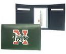 Nebraska Cornhuskers Embroidered Leather Tri-Fold Wallet