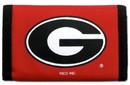Georgia Bulldogs Nylon Trifold Wallet