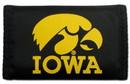 Iowa Hawkeyes Nylon Trifold Wallet