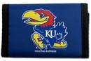 Kansas Jayhawks Nylon Trifold Wallet