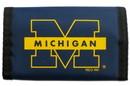 Michigan Wolverines Nylon Trifold Wallet