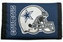 Dallas Cowboys Nylon Trifold Wallet