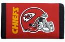 Kansas City Chiefs Nylon Trifold Wallet