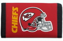 Kansas City Chiefs Nylon Trifold Wallet