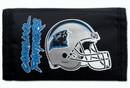 Carolina Panthers Nylon Trifold Wallet