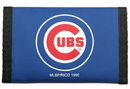Chicago Cubs Nylon Trifold Wallet Blue