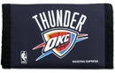 Oklahoma City Thunder Nylon Trifold Wallet