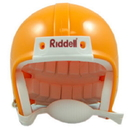 Riddell VSR4 Blank Mini Football Helmet Shell - Green Bay Gold