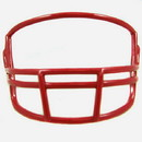 Riddell VSR4 Mini Face Mask - San Francisco Red
