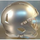Riddell Speed Blank Mini Football Helmet Shell - Extra Bright Silver