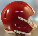 Riddell Speed Blank Mini Football Helmet Shell - Cardinal