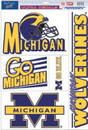 Michigan Wolverines Decal 11x17 Ultra