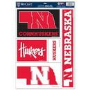 Nebraska Cornhuskers Decal 11x17 Ultra