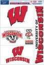 Wisconsin Badgers Decal 11x17 Ultra