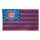 Chicago Cubs Flag 3x5 Deluxe Stars and Stripes