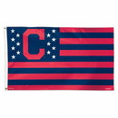 Cleveland Indians Flag 3x5 Deluxe Style Stars and Stripes Design