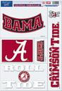 Alabama Crimson Tide Decal 11x17 Ultra