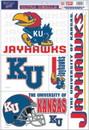 Kansas Jayhawks Decal 11x17 Ultra