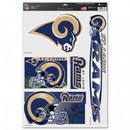 St. Louis Rams Decal 11x17 Ultra